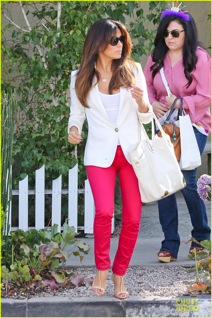eva longoria pampers sister lucky for birthday 093145066