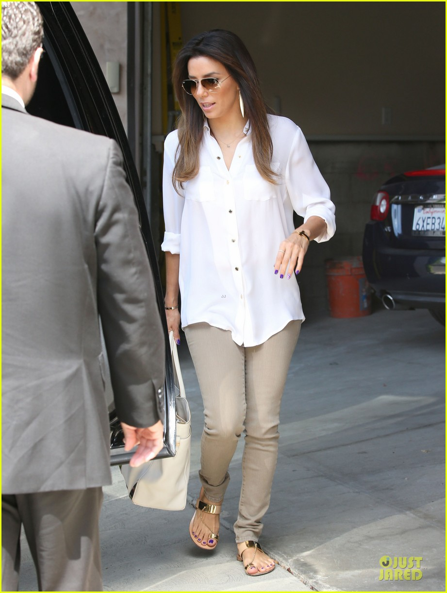 eva longoria pampers sister lucky for birthday 13