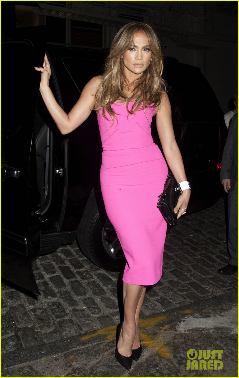 jennifer lopez is lady in pink for a k a album release party 063137864