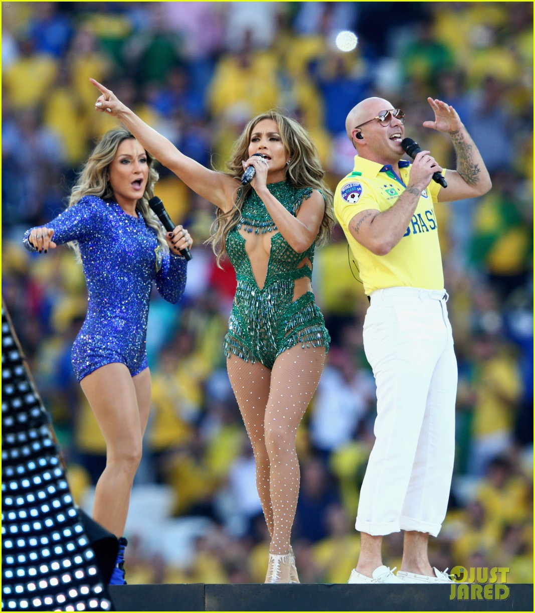 jennifer lopez performs at world cup 2014 opening ceremony with pitbull claudia leitte 033134061