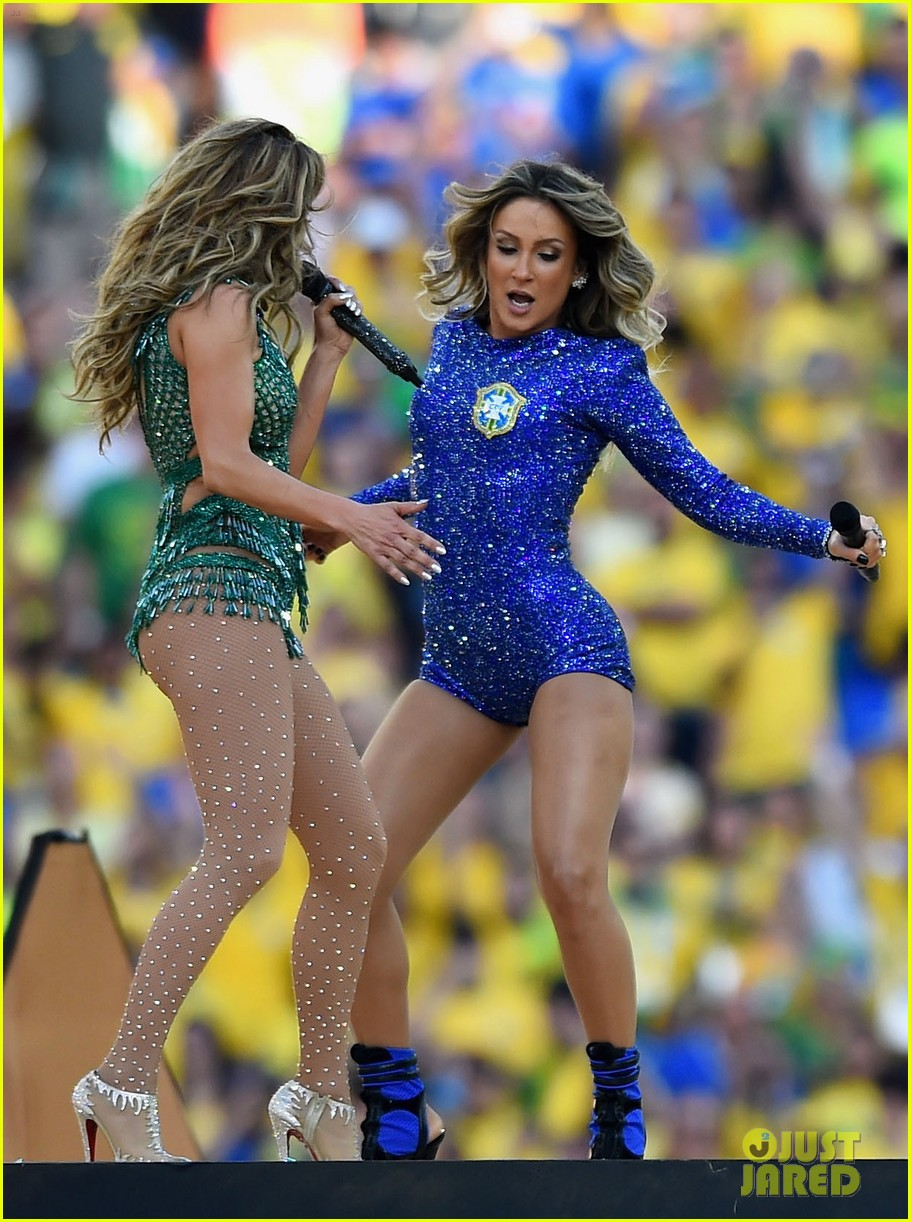 jennifer lopez performs at world cup 2014 opening ceremony with pitbull claudia leitte 123134070