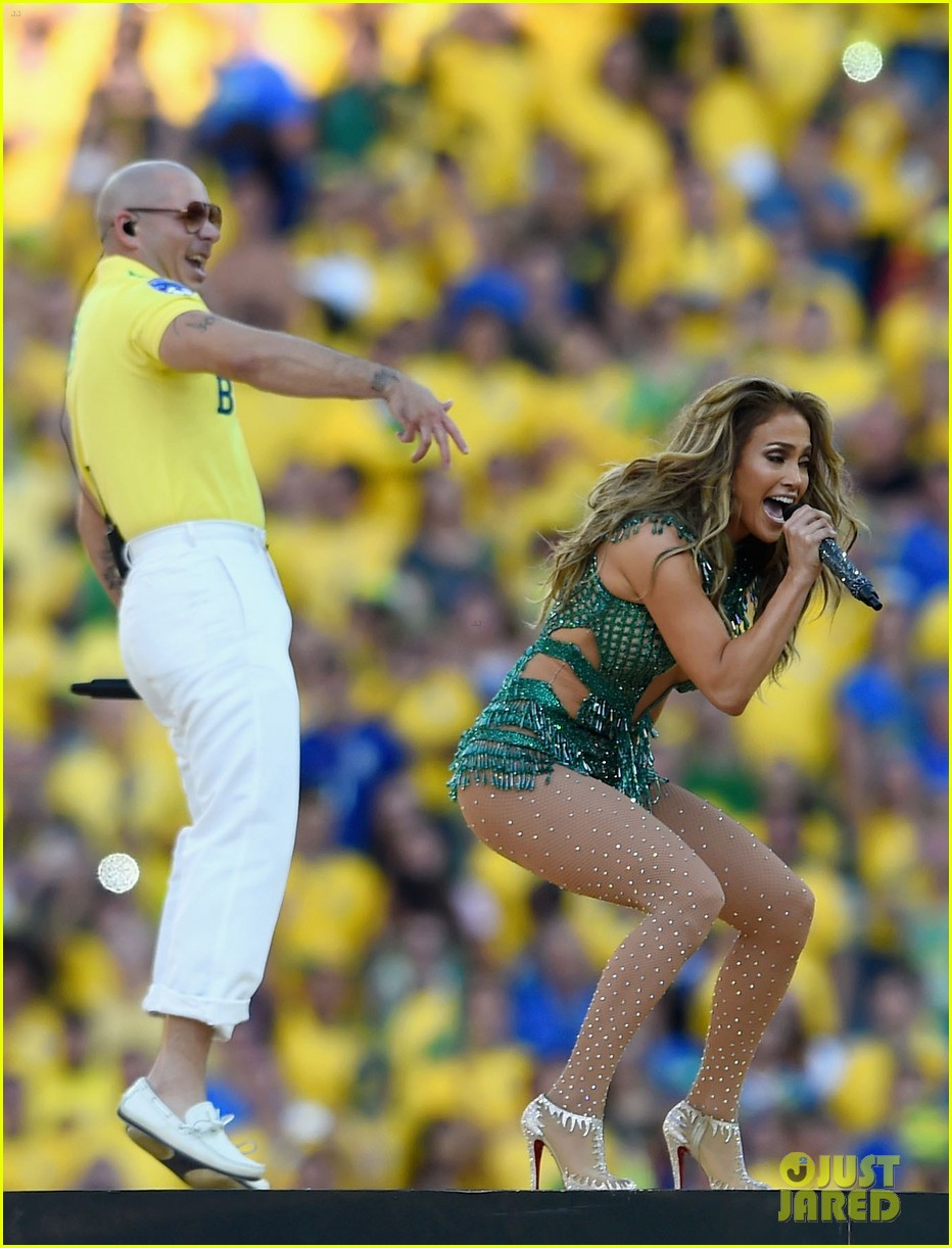 jennifer lopez performs at world cup 2014 opening ceremony with pitbull claudia leitte 183134076