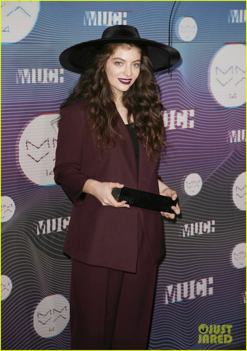 lorde muchmusic video awards 2014 033136270