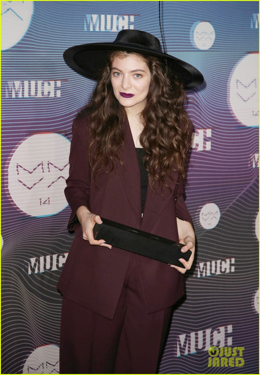 lorde muchmusic video awards 2014 053136272