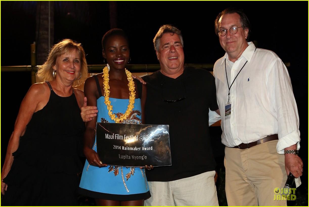 lupita nyongo rainmaker at maui film festival 103131026