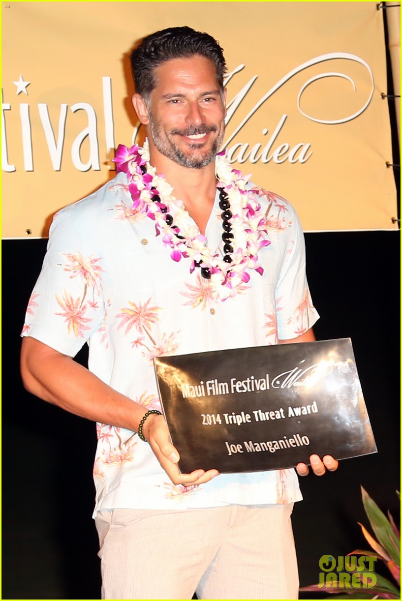 joe manganiello triple threat award 023130592