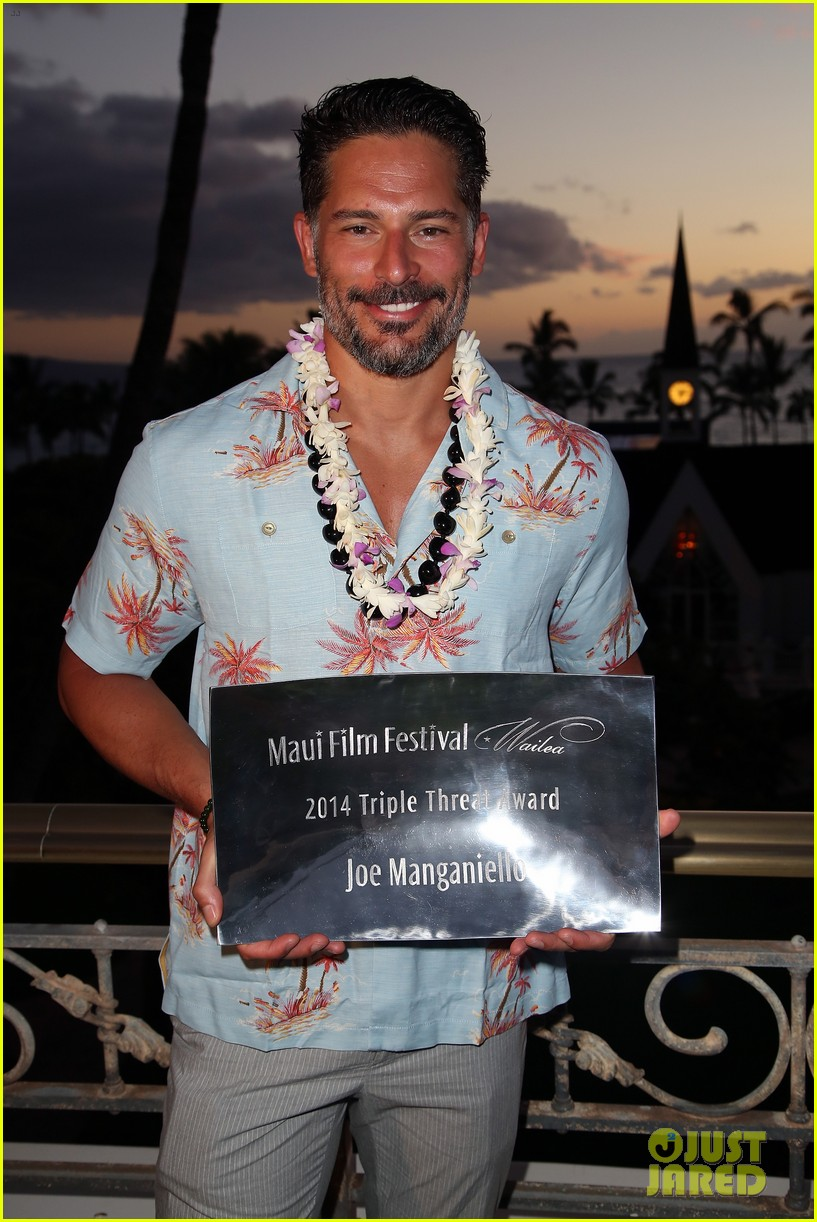 joe manganiello triple threat award 133130603
