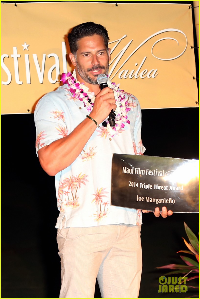 joe manganiello triple threat award 163130606