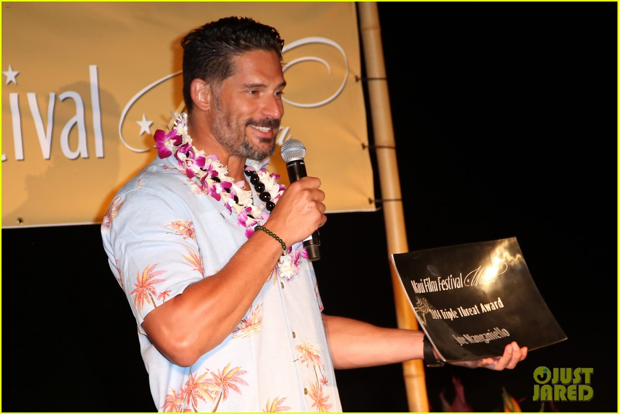 joe manganiello triple threat award 173130607
