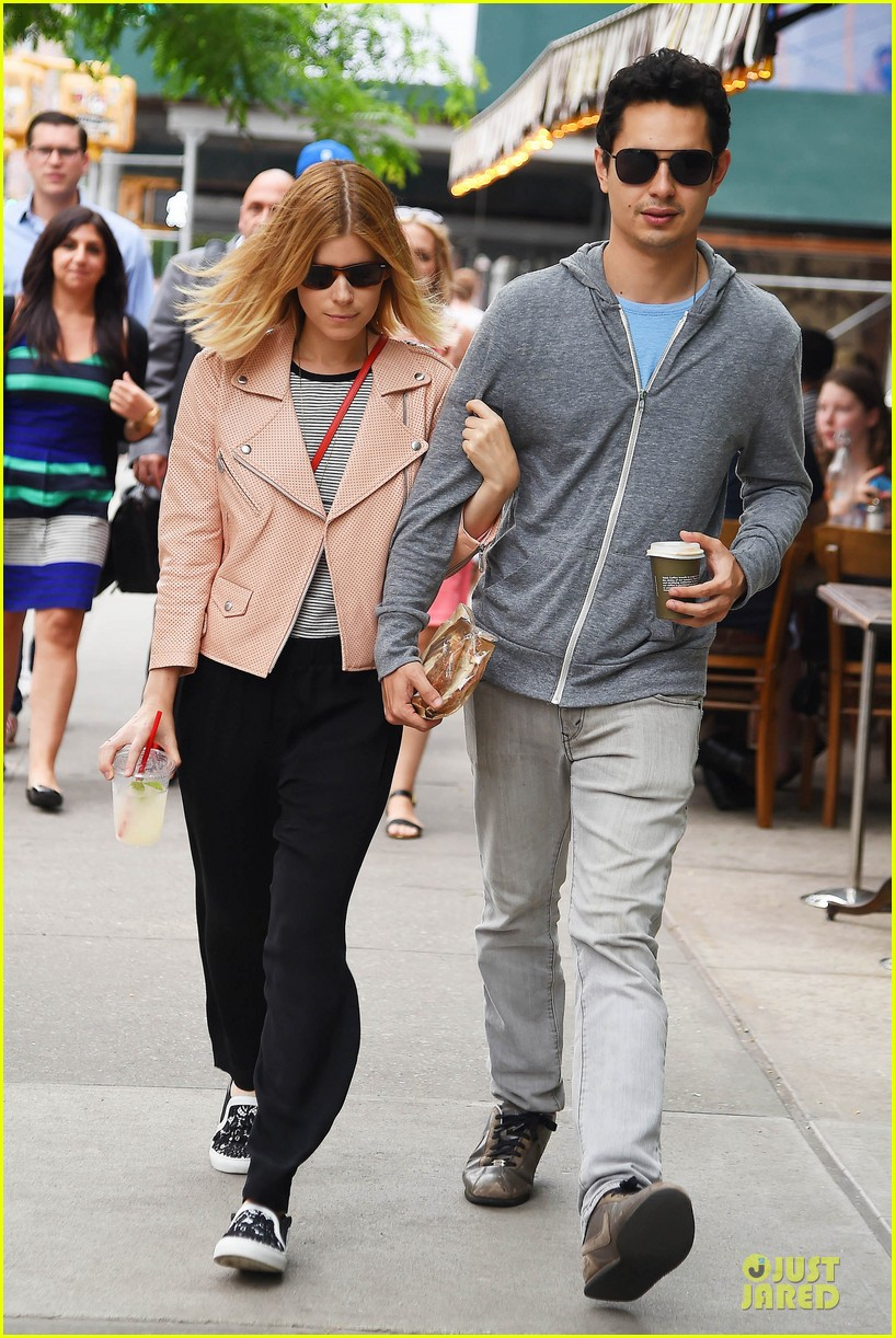kate mara max minghella cute couple in nyc 083128580