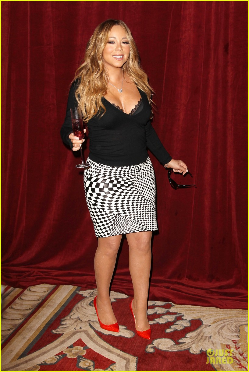 mariah carey bra gets exposure at butterfly launch 013132073