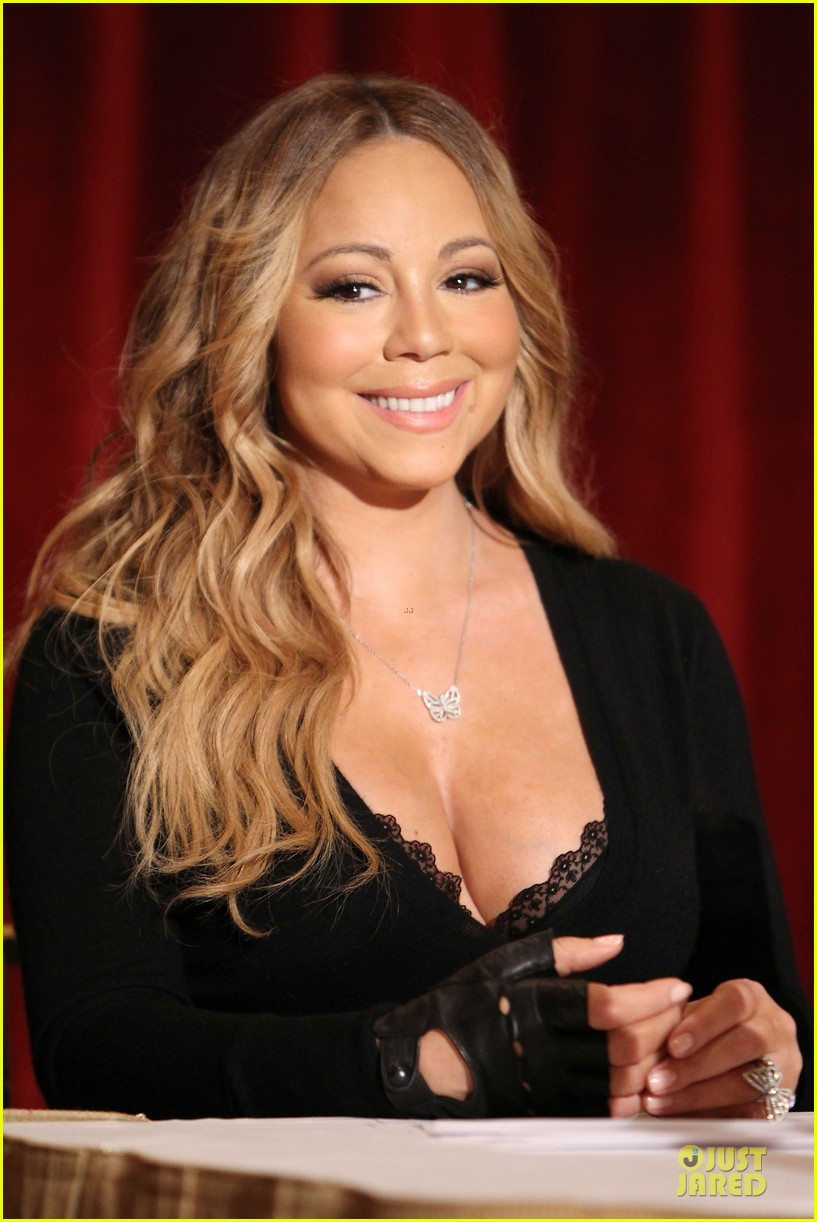 mariah carey bra gets exposure at butterfly launch 023132074