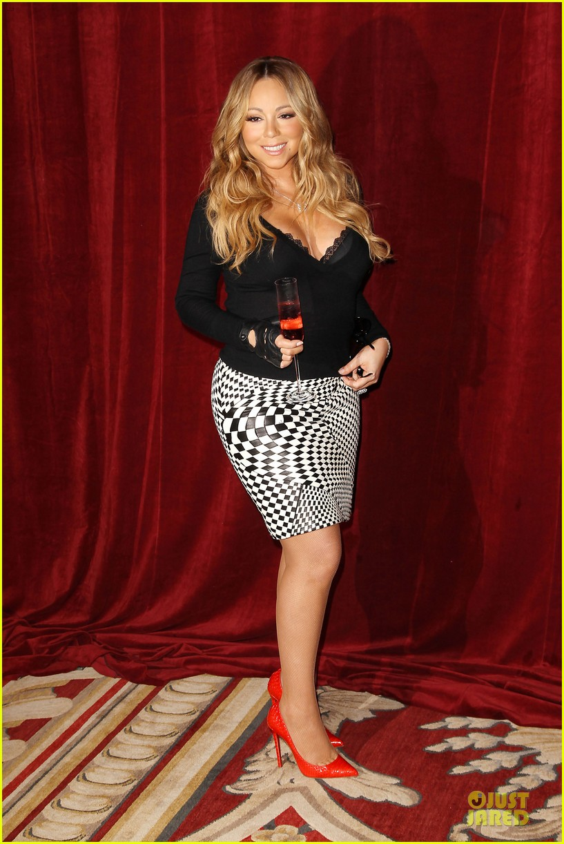 mariah carey bra gets exposure at butterfly launch 033132075