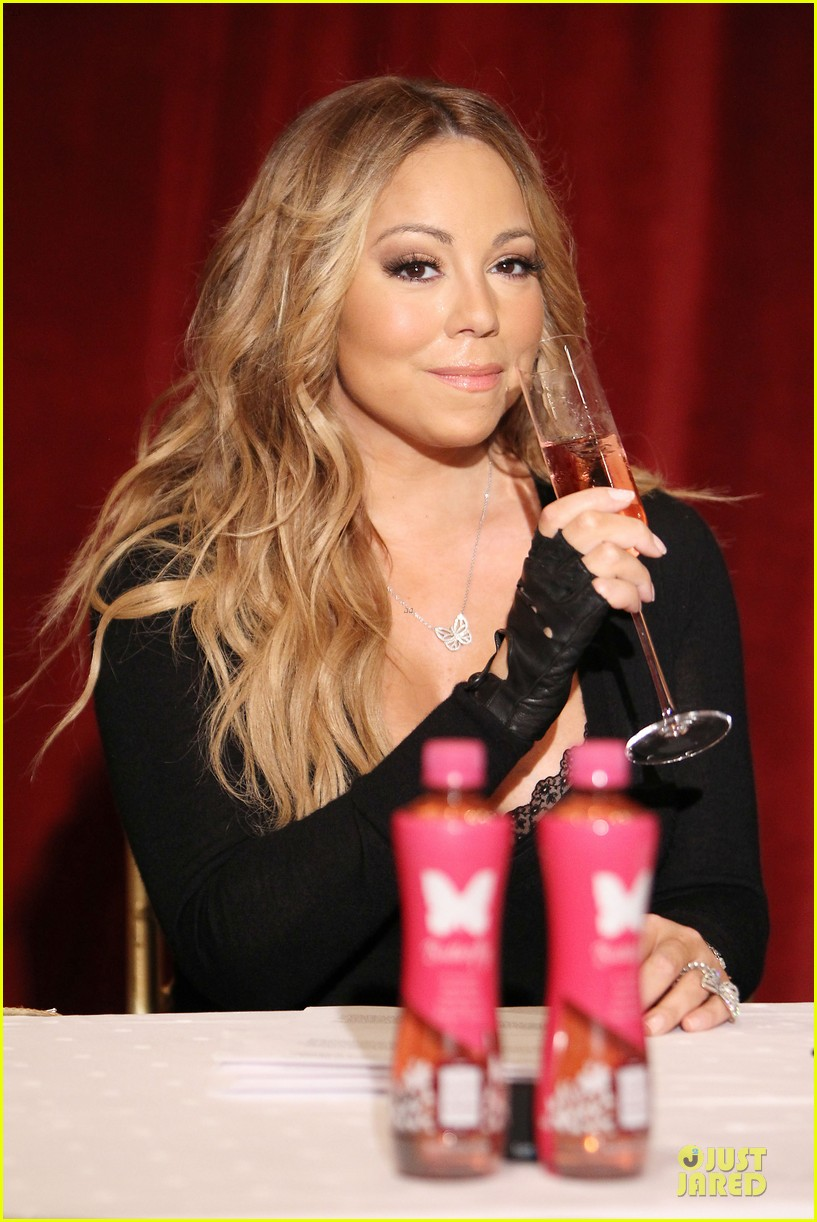 mariah carey bra gets exposure at butterfly launch 043132076