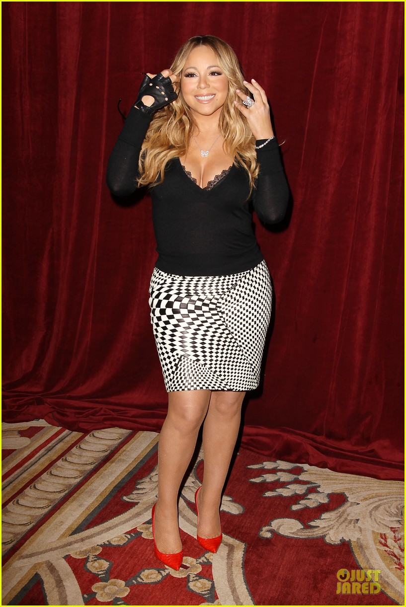mariah carey bra gets exposure at butterfly launch 073132079