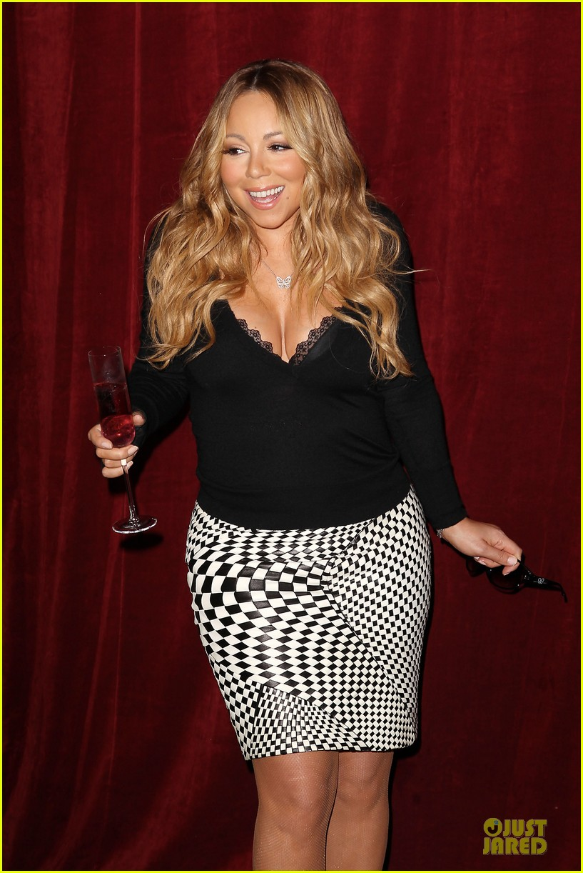 mariah carey bra gets exposure at butterfly launch 093132081