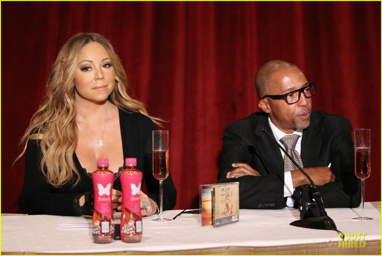 mariah carey bra gets exposure at butterfly launch 153132087