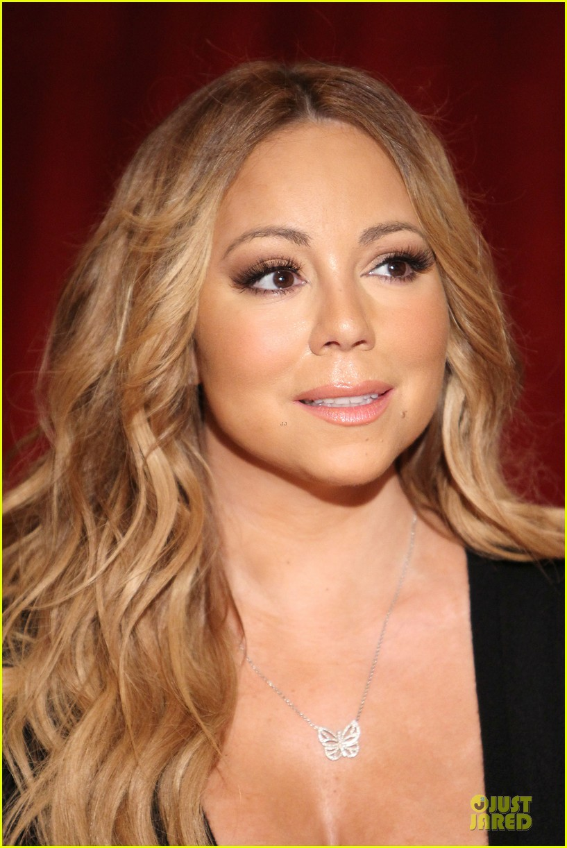 mariah carey bra gets exposure at butterfly launch 163132088
