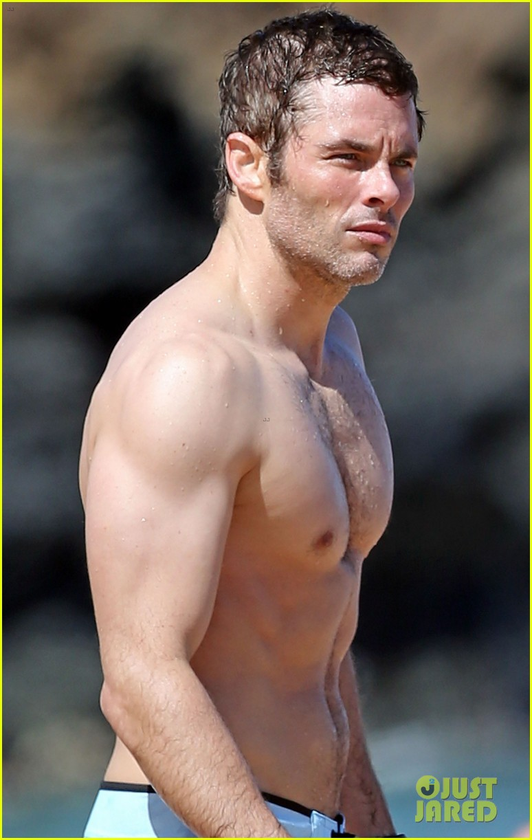 Tanya Hairy James Marsden Hot Naked