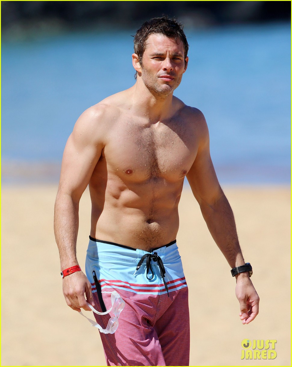 shirtless james marsden shows ripped body in hawaii 053131776