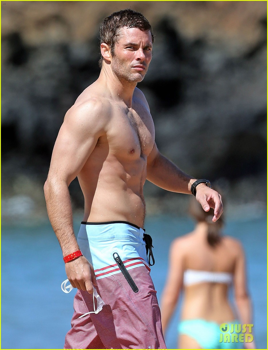 shirtless james marsden shows ripped body in hawaii 063131777