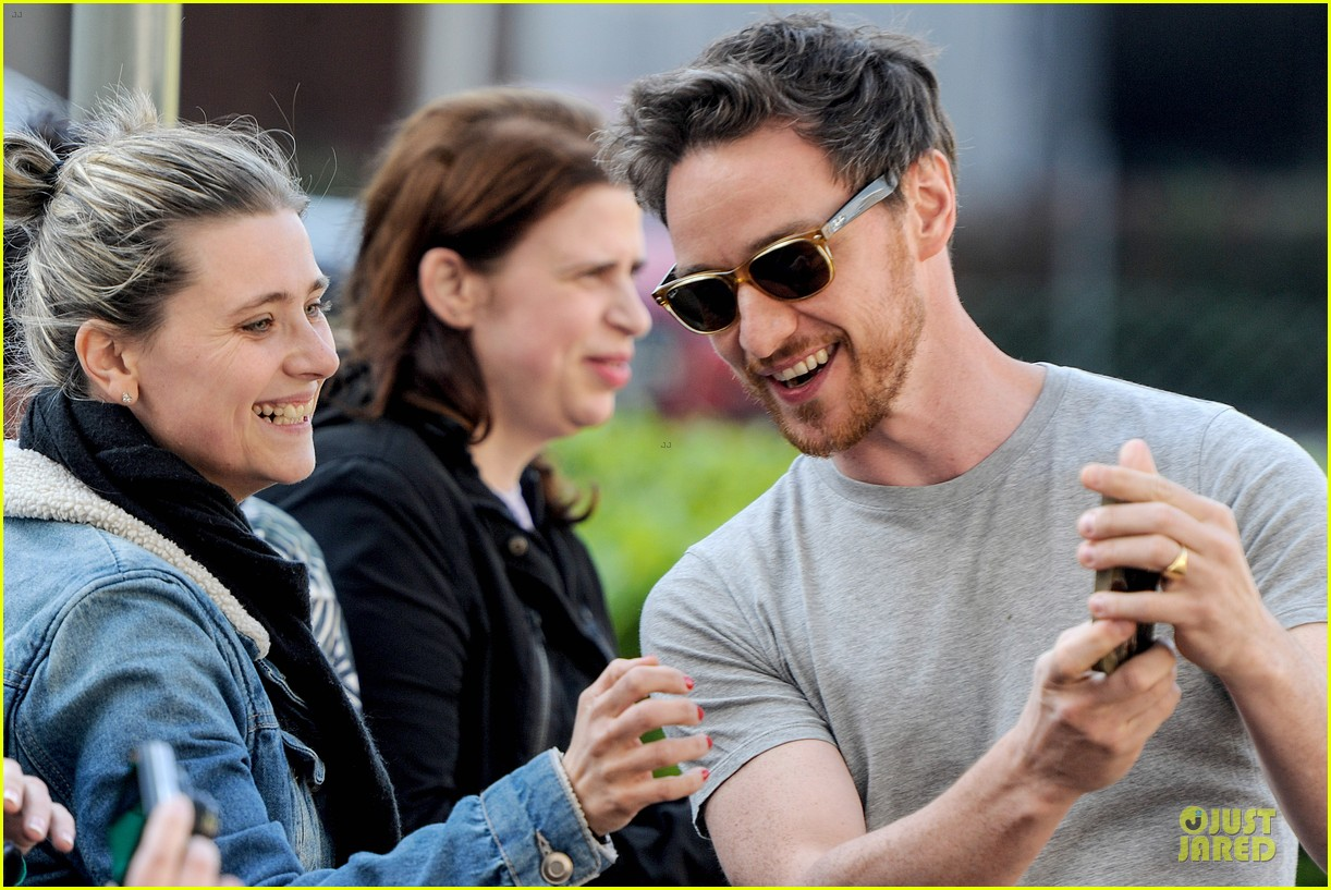 james mcavoy display athleticism at soccer aid 103130525