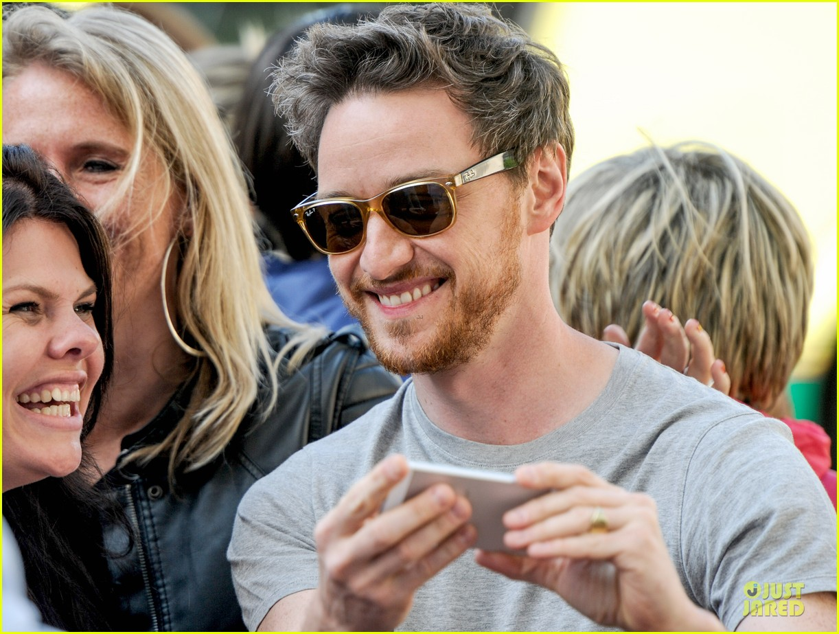 james mcavoy display athleticism at soccer aid 113130526