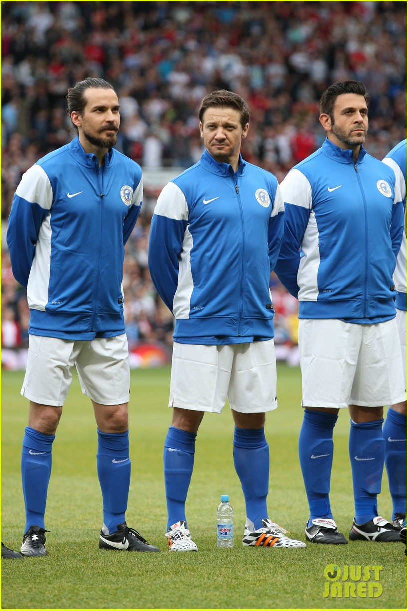 james mcavoy jeremy renner help tackle child poverty at soccer aid 2014 023131626