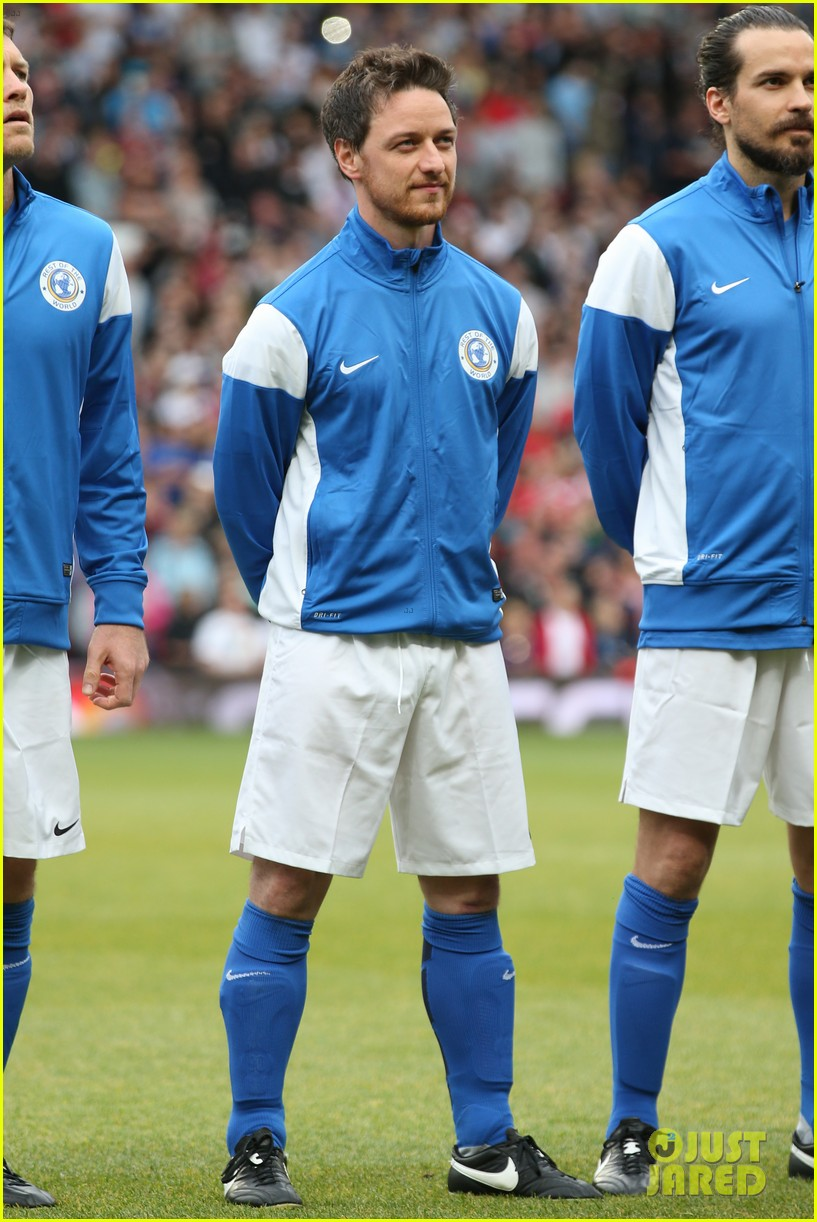james mcavoy jeremy renner help tackle child poverty at soccer aid 2014 073131631