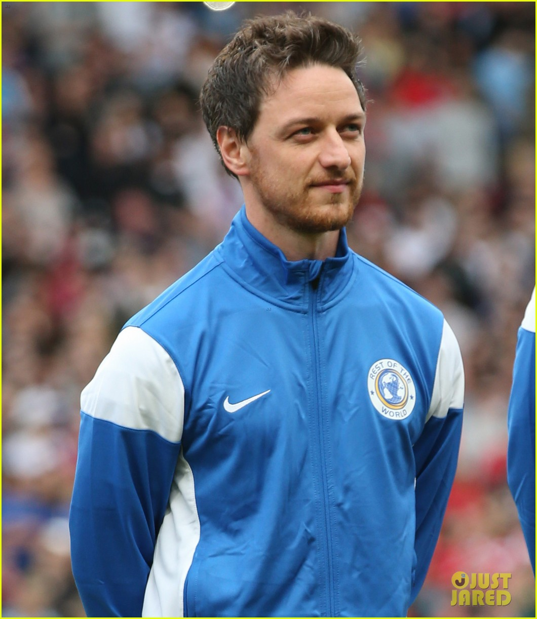 james mcavoy jeremy renner help tackle child poverty at soccer aid 2014 09