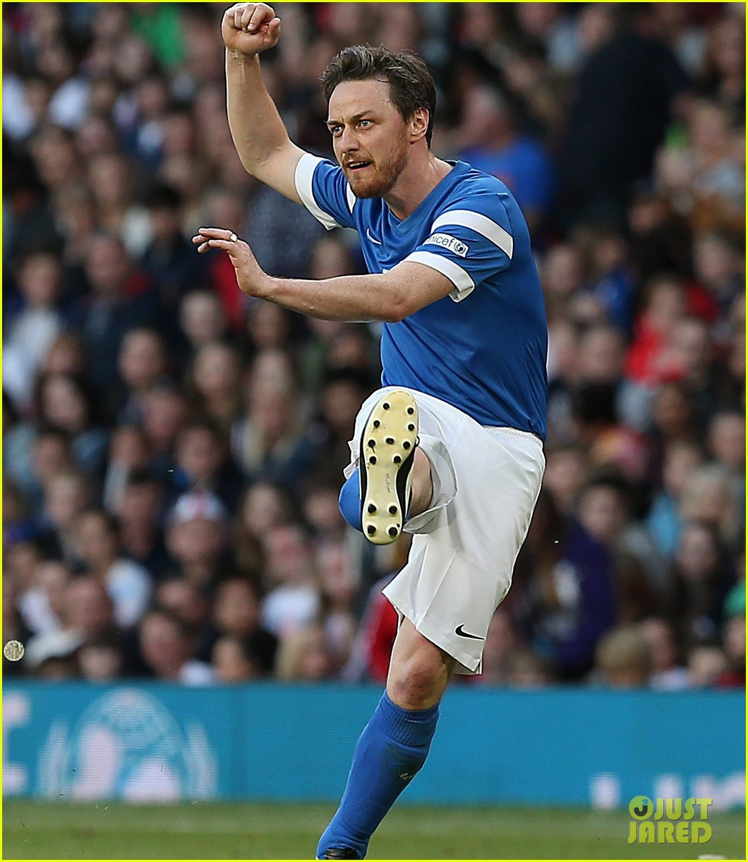 james mcavoy jeremy renner help tackle child poverty at soccer aid 2014 103131634