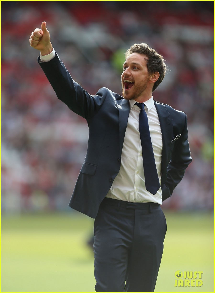 james mcavoy jeremy renner help tackle child poverty at soccer aid 2014 133131637