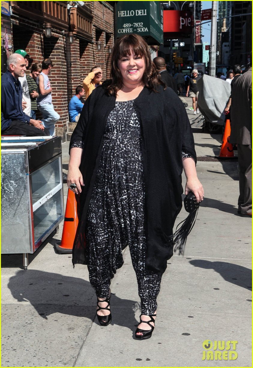 melissa mccarthy talks juggling work family on david letterman 053142939