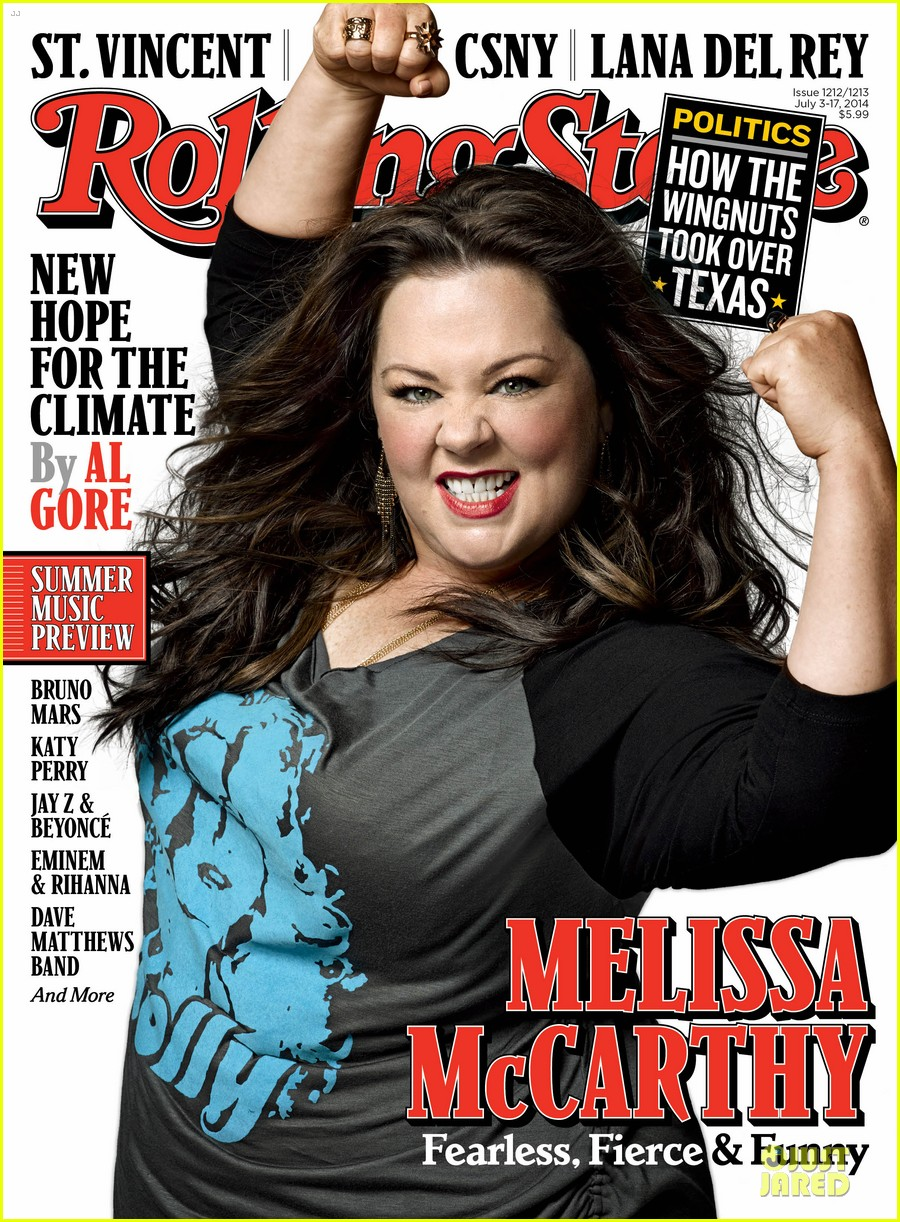 melissa mccarthy fierce funny on rolling stone cover 013139012