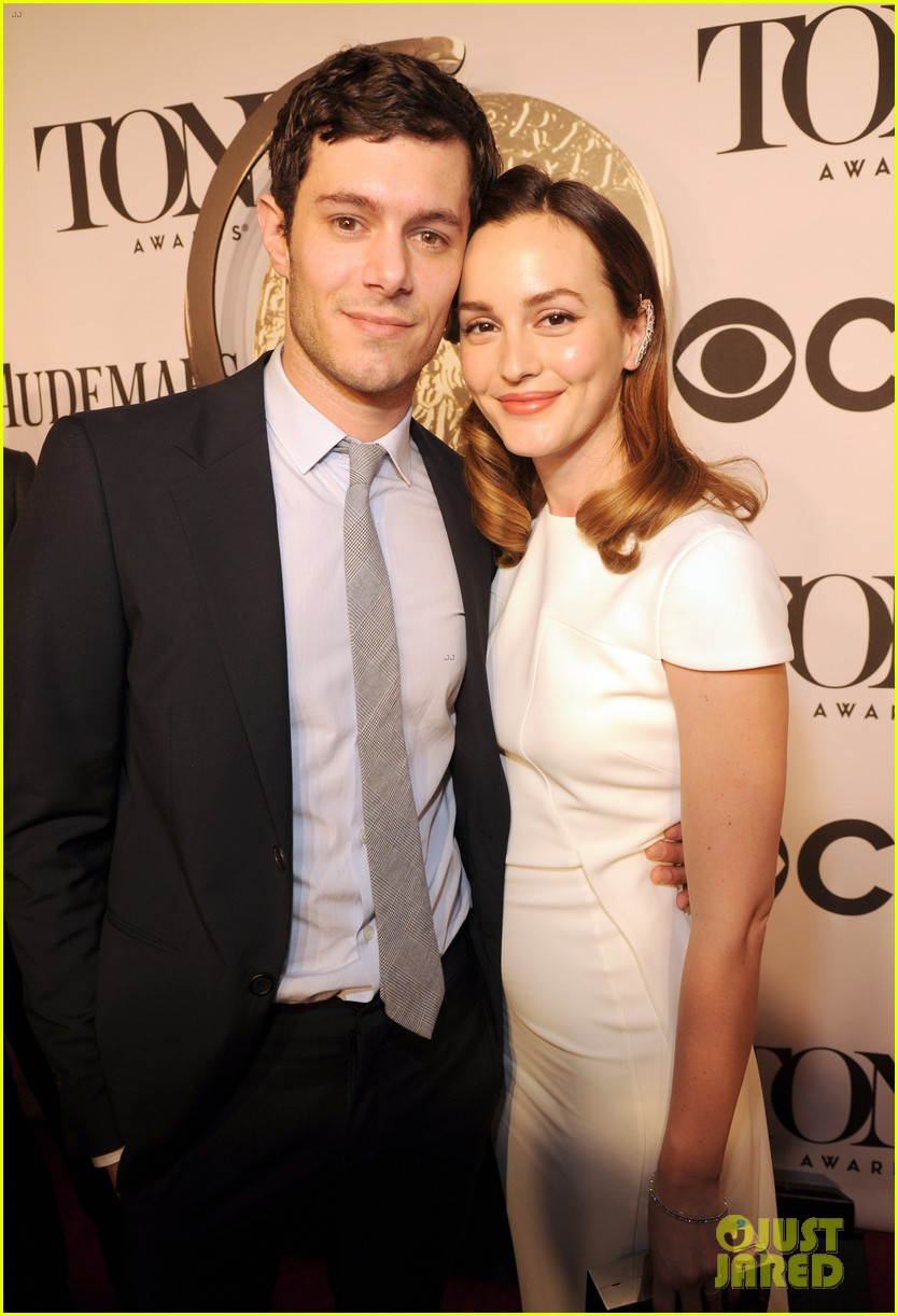 leighton meester adam brody tony awards 2014 04