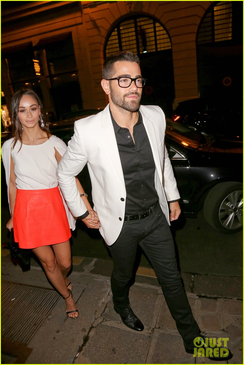 joe jonas jesse metcalfe dinner paris fashion week 043145333
