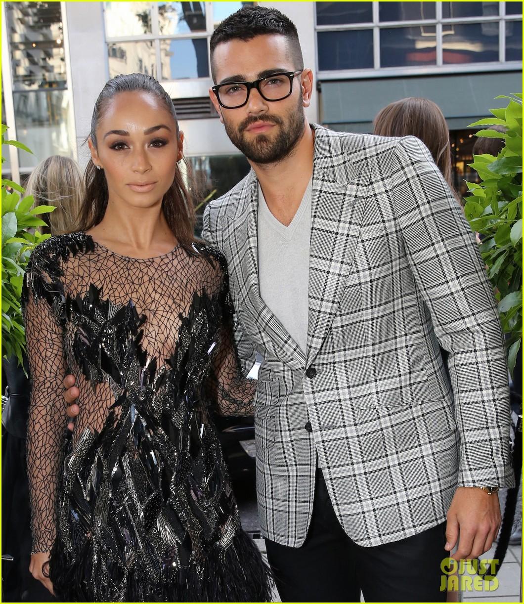 jesse metcalfe cara santana fashionable duo for london mens fashion week 013137871