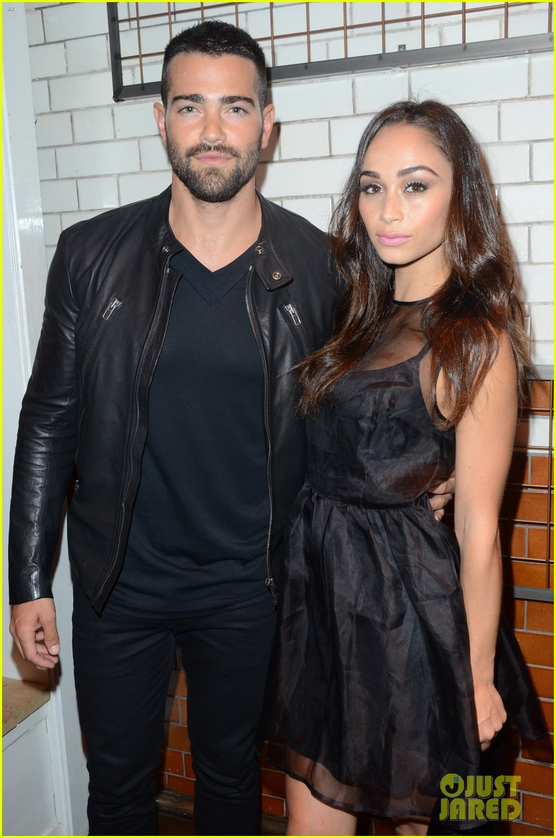 jesse metcalfe cara santana fashionable duo for london mens fashion week 13