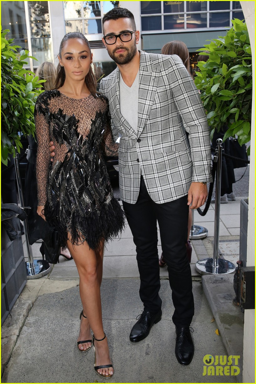 jesse metcalfe cara santana fashionable duo for london mens fashion week 183137888