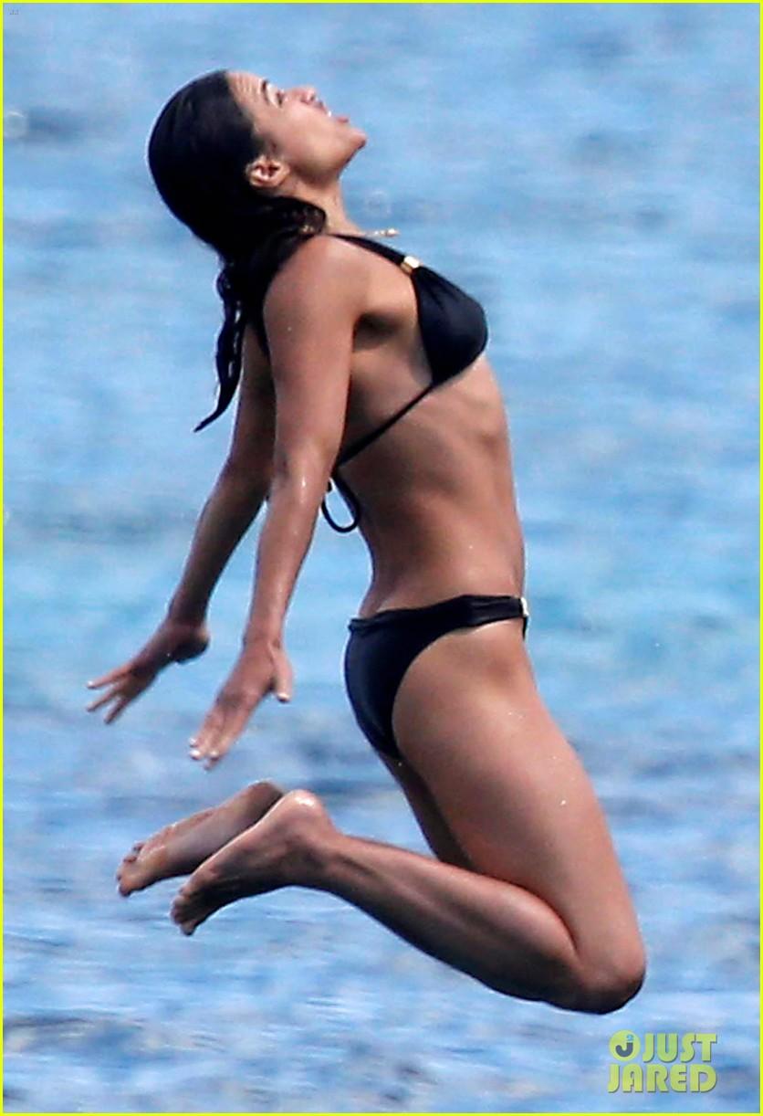 michelle rodriguez soaks up sun in bikini 063144797