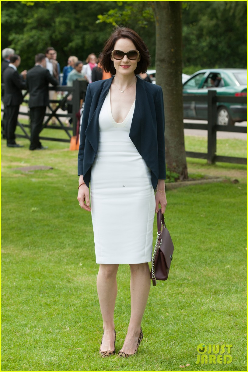 michelle dockery boyfriend john dineen cartier world cup 033135858
