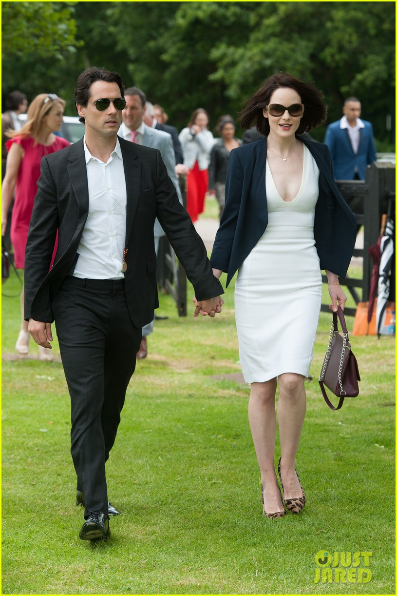 michelle dockery boyfriend john dineen cartier world cup 11