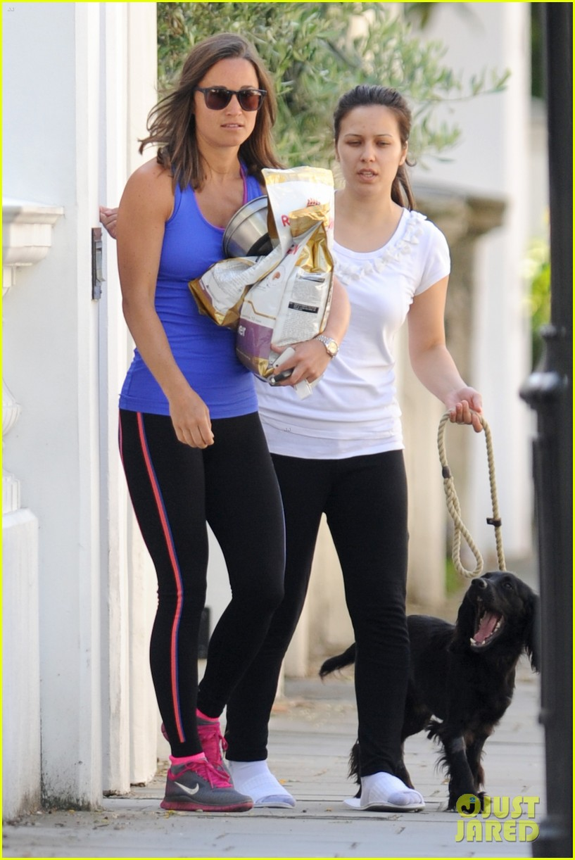 pippa middleton has a royal dog day afternoon with lupo 063133401