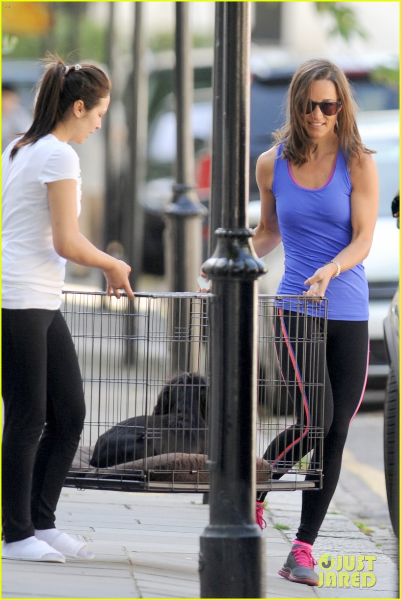 pippa middleton has a royal dog day afternoon with lupo 083133403