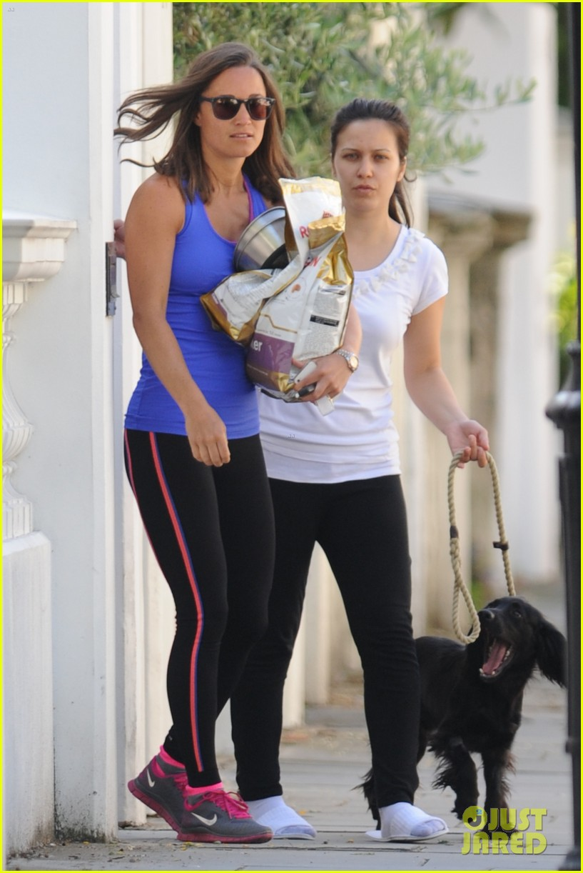 pippa middleton has a royal dog day afternoon with lupo 123133407