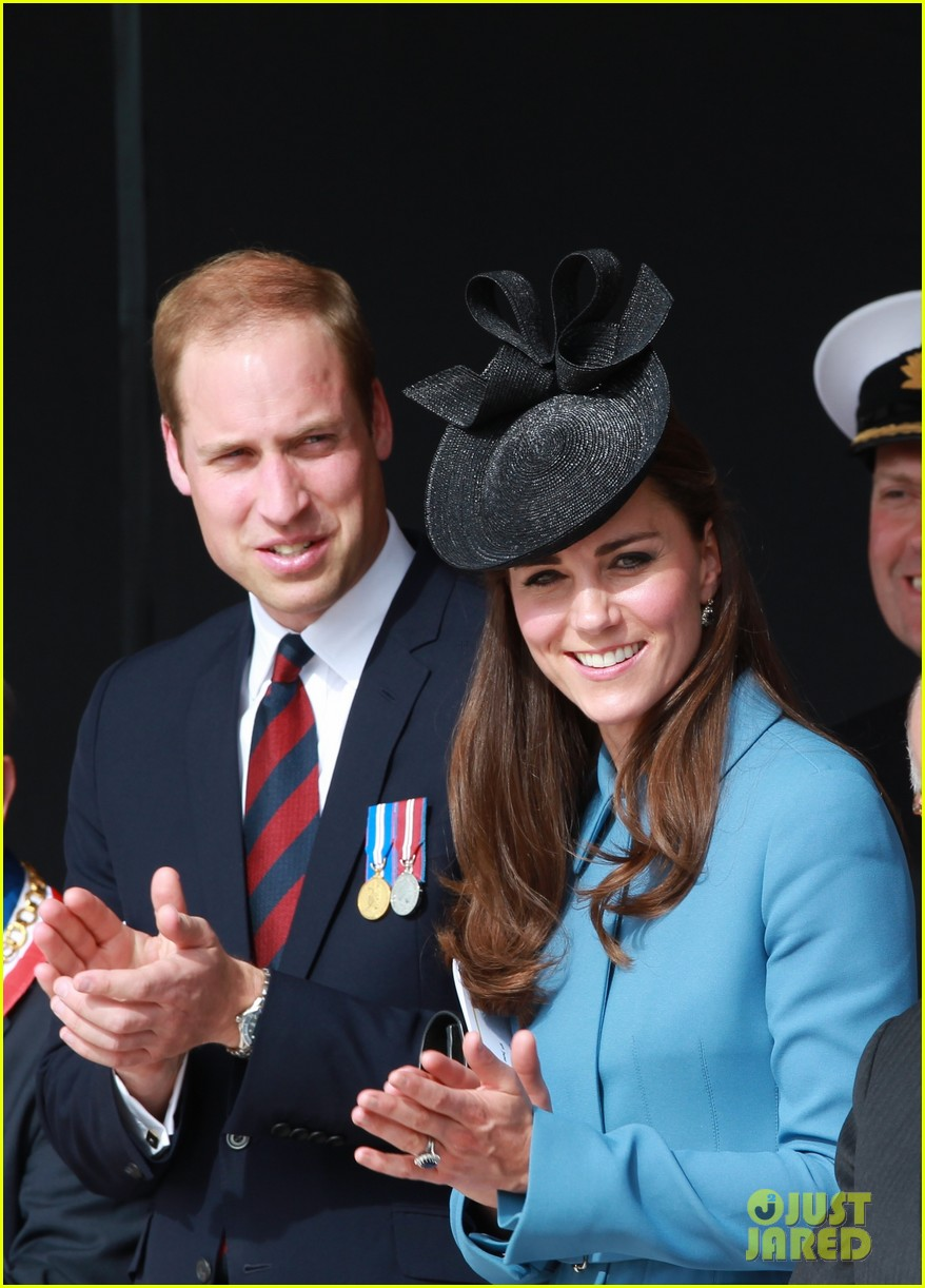 kate middleton prince william pay respects at d day 70th anniversary 043129874