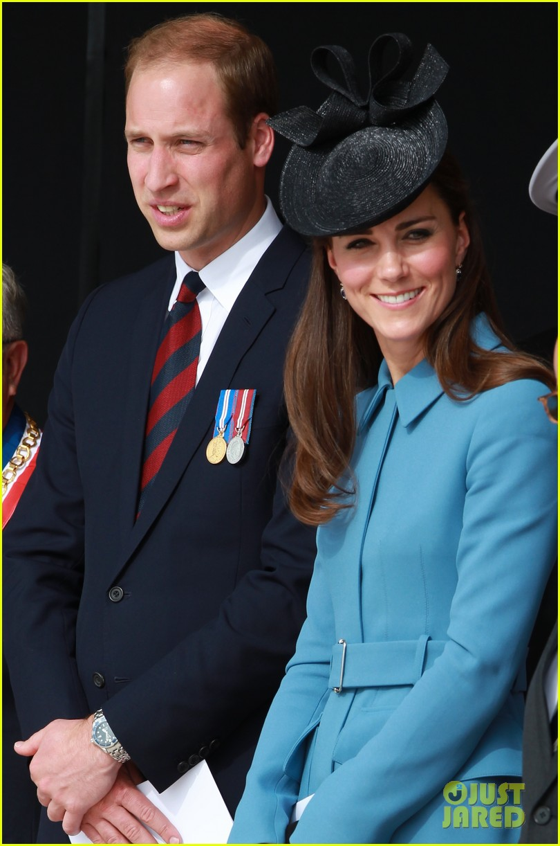 kate middleton prince william pay respects at d day 70th anniversary 063129876