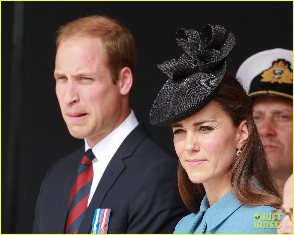 kate middleton prince william pay respects at d day 70th anniversary 09