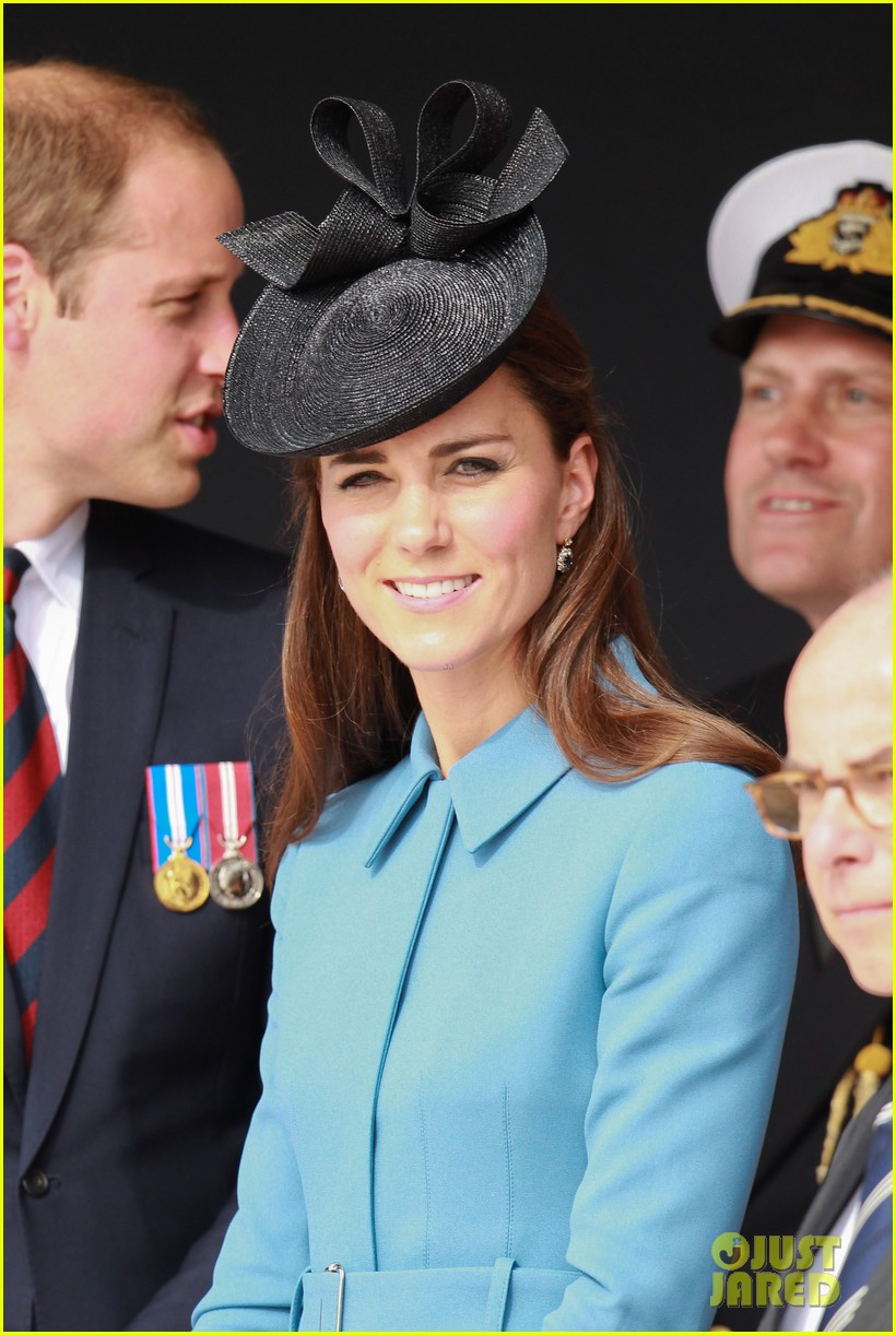 kate middleton prince william pay respects at d day 70th anniversary 10