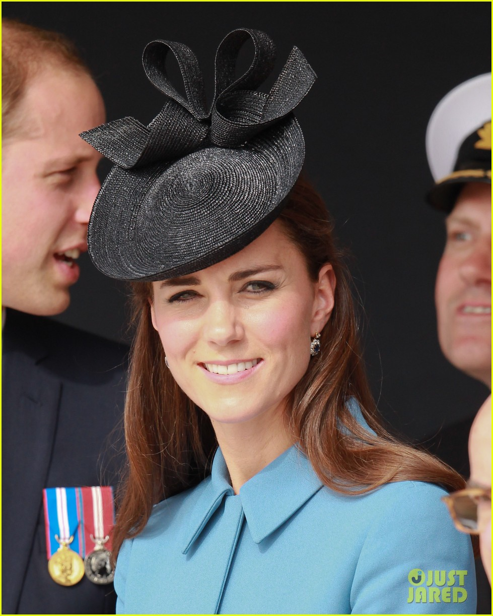 kate middleton prince william pay respects at d day 70th anniversary 113129881